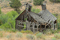 Old building in high desert, Oregon