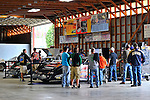 Sep 8, 2011; 3:15:56 PM; Rossburg, OH., USA; The 41st annual running of the World 100 Dirt Late Models racing for the Globe trophy at the Eldora Speedway.  Mandatory Credit: (thesportswire.net)