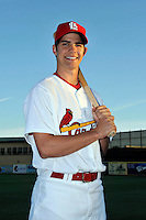 Mar 01, 2010; Jupiter, FL, USA; St. Louis Cardinals catcher Robert Stock (86) during  photoday at Roger Dean Stadium. Mandatory Credit: Tomasso De Rosa/ Four Seam Images