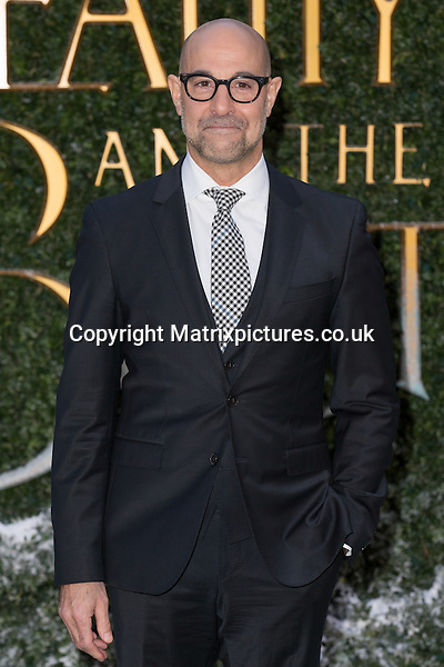 NON EXCLUSIVE PICTURE: MAZZ / MATRIXPICTURES.CO.UK<br /> PLEASE CREDIT ALL USES<br /> <br /> WORLD RIGHTS<br /> <br /> American actor Stanley Tucci attends the Beauty And The Beast Launch Event held at Spencer House in London.<br /> <br /> FEBRUARY 23rd 2017<br /> <br /> REF: MIS 17409