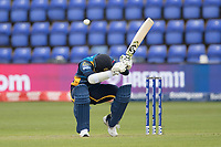 Dimuth Karunaratne (Sri Lanka) evades a short delivery during Afghanistan vs Sri Lanka, ICC World Cup Cricket at Sophia Gardens Cardiff on 4th June 2019