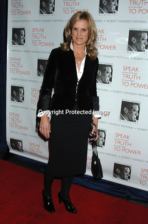 Kerry Kennedy..arriving at The Speak Truth To Power and RFK Memorial Benefit on October 6, 2006 at Pier Sixty at Chelsea Piers. ..Robin Platzer, Twin Images