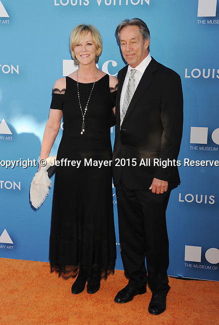 LOS ANGELES, CA - MAY 30: Actress Joanna Kerns (L) and Marc Appleton arrive at the 2015 MOCA Gala presented by Louis Vuitton at The Geffen Contemporary at MOCA on May 30, 2015 in Los Angeles, California.