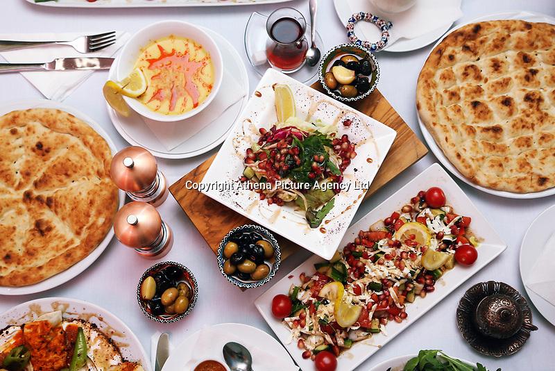 Turkish Kitchen restaurant, Swansea, Wales, UK. 13 July 2017