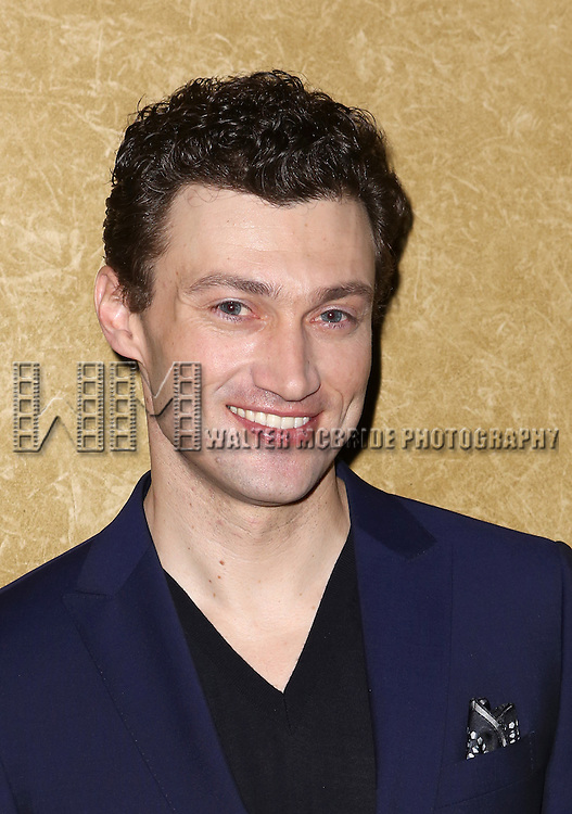 Bryce Pinkham attends the Broadway Opening Night press reception for 'The Heidi Chronicles'  at The Music Box Theatre on March 19, 2015 in New York City.