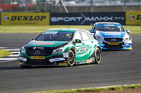 Round 9 of the 2018 British Touring Car Championship. #15 Tom Oliphant. Ciceley Motorsport. Mercedes Benz A-Class