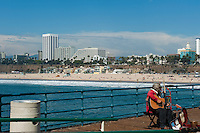 Pacific Park Pier, Entertainer,  Over the Ocean, Santa Monica CA,,  Recreation, SoCal Beach, South Bay, Santa Monica. bay