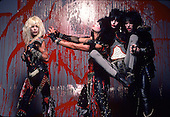 MOTLEY CRUE, STUDIO, BLOOD SESSION, 1984, NEIL ZLOZOWER