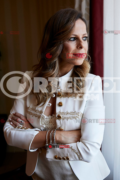 Pastora Soler attends to 'La Calma' live show presentation at Westin Palace Hotel in Madrid, Spain. October 03, 2018. (ALTERPHOTOS/A. Perez Meca) /NortePhoto.com NORTEPHOTOMEXICO