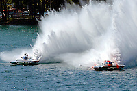 "Bert Henderson, GP-777 ""EMS Steeler"" and Jimmy King, GP-10 ""The Charger"" (Grand Prix Hydroplane(s)"