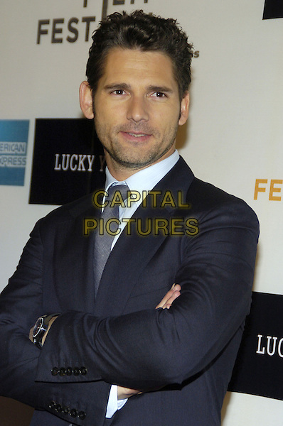 "ERIC BANA .6th Annual Tribeca Film Festival - ""Lucky You""  World Premiere held at the Borough of Manhattan Community College, New York City, New York, USA..May 1st, 2007.half length suit black jacket arms crossed.CAP/ADM/BL.©Bill Lyons/AdMedia/Capital Pictures *** Local Caption ***"