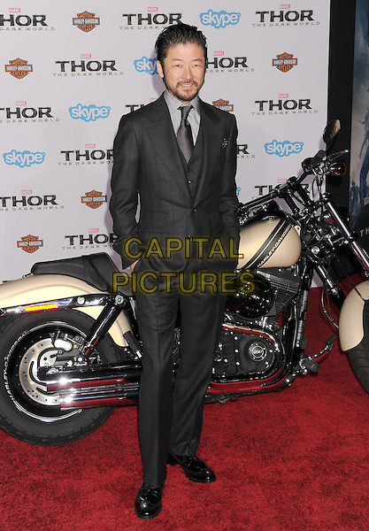 HOLLYWOOD, CA - NOVEMBER 04: Tadanobu Asano at the Los Angeles Premiere 'Thor: The Dark World' at the El Capitan Theatre on November 4, 2013 in Hollywood, California, USA.<br /> CAP/ROT/TM<br /> &copy;Tony Michaels/Roth Stock/Capital Pictures