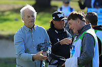 Actor Bill Murray during the first round of the AT&amp;T Pro-Am, Pebble Beach Golf Links, Monterey, California, USA. 07/02/2019<br /> Picture: Golffile | Phil Inglis<br /> <br /> <br /> All photo usage must carry mandatory copyright credit (&copy; Golffile | Phil Inglis)&sect;