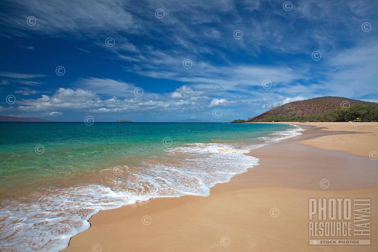 Beautiful clouds at Big Beach, Makena, Maui.