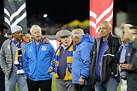 San Jose, CA - Saturday May 05, 2018: Former San Jose Earthquakes  during a Major League Soccer (MLS) match between the San Jose Earthquakes and the Portland Timbers at Avaya Stadium.
