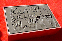 LOS ANGELES - OCT 6:  Kenneth Branagh, prints at the ceremony honoring Kenneth Branagh with hand and foot prints at the TCL Chinese Theater IMAX on October 6, 2017 in Los Angeles, CA