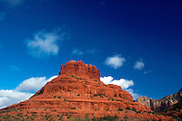 Bell Rock, red rock formation against the sky, Sedona, Arizona