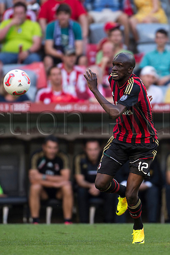 01.08.2013. Munich, Germany.  Bakaye Traore (Milan) Audi Cup 2013 match between AC Milan 1-0 Sao Paulo FC at Allianz Arena in Munich, Germany.
