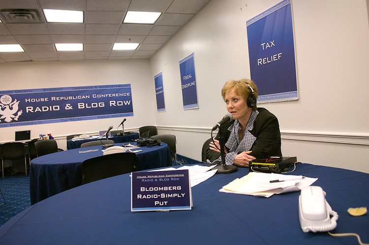 Rep. Kay Granger, R-Texas, talks to Simply Put on Bloomberg Radio, during the House Republican Conference's Virtual Radio Row, where members spoke to national and regional radio shows across the country.