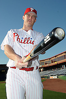 Feb 20, 2009; Clearwater, FL, USA; The Philadelphia Phillies outfielder Terry Tiffee (66) during photoday at Bright House Field. Mandatory Credit: Tomasso De Rosa/ Four Seam Images