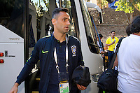 Photo before the match Brazil vs Ecuador, Corresponding Group -B- America Cup Centenary 2016, at Rose Bowl Stadium<br /> <br /> Foto previo al partido Brasil vs Ecuador, Correspondiante al Grupo -B-  de la Copa America Centenario USA 2016 en el Estadio Rose Bowl, en la foto: Jonas de Brasil<br /> <br /> <br /> 04/06/2016/MEXSPORT/Victor Posadas.