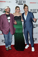 "LOS ANGELES - OCT 15:   Kevin Smith, Harley Quinn Smith, Jason Mewes at the ""Jay & Silent Bob Reboot"" Los Angeles Premiere at the TCL Chinese Theater on October 15, 2019 in Los Angeles, CA"