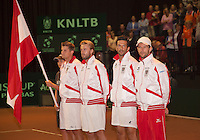 14-sept.-2013,Netherlands, Groningen,  Martini Plaza, Tennis, DavisCup Netherlands-Austria, Doubles,  Austrian team <br /> Photo: Henk Koster