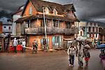 Ambositra, Madagascar.