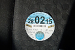 Road tax disc vehicle licence UK until February 2015