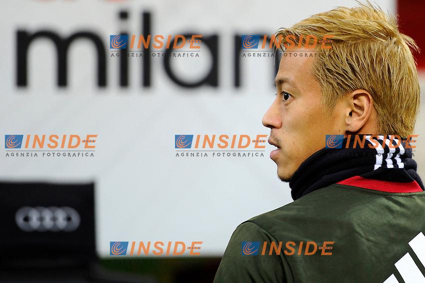 Keisuke Honda Milan<br /> Milano 8-01-2017 Stadio Giuseppe Meazza - Football Calcio Serie A Milan - Cagliari Foto Giuseppe Celeste / Insidefoto