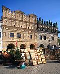 Kazimierz Dolny, 2007-05-02. Późnorenesansowa kamienica Przybyłów na rynku w Kazimierzu Dolnym