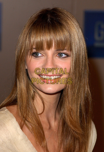"MISCHA BARTON.3rd Annual GM ""Ten"" fashion show and charity event to celebrate award season and car culture held at Sunset and Vine in the heart of Hollywood .24 February 2004                                                                  *UK Sales Only*                                                             .headshot, portrait, fringe, hair.www.capitalpictures.com.sales@capitalpictures.com.©Capital Pictures."