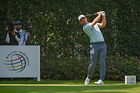 Paul Casey (GBR) watches his tee shot on 12 during round 2 of the World Golf Championships, Mexico, Club De Golf Chapultepec, Mexico City, Mexico. 3/2/2018.<br /> Picture: Golffile | Ken Murray<br /> <br /> <br /> All photo usage must carry mandatory copyright credit (&copy; Golffile | Ken Murray)