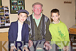 Three Wise Men: Solo artists back stage for St. Kieran's Got Talent last Sunday night in Scartaglen, Art O'Mahony-Castleisland, Pat O'Sullivan- Scartaglen and Hugh O'Connor-Scartaglen