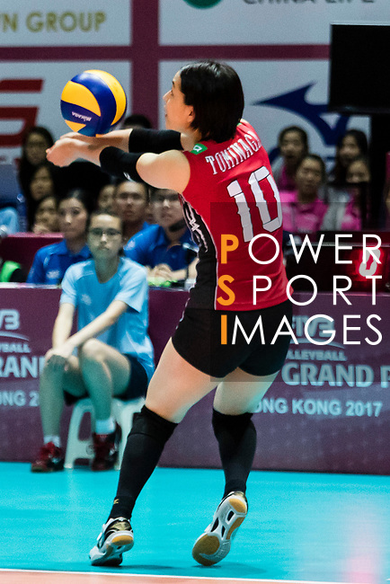 during the FIVB Volleyball World Grand Prix - Hong Kong 2017 match between Japan and Serbia on 22 July 2017, in Hong Kong, China. Photo by Yu Chun Christopher Wong / Power Sport Images