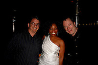 May 14, 2010:  Guest, Stephanie Mills and Bill Dudley, on-air host at 94.7 The Wave after she performed at the 'Rhythm on the Vine' charity event to benefit Shriners Children Hospital held at  the South Coast Winery Resort & Spa in Temecula, California..Photo by Nina Prommer/Milestone Photo