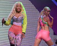 MIAMI, FL - JULY 24:  Nicki Minaj in concert at the James L. Knight Center on July 24, 2012 in Miami Florida. ©mpi04/MediaPunch Inc /NortePhoto.com<br /> <br /> **CREDITO*OBLIGATORIO** *No*Venta*A*Terceros*<br /> *No*Sale*So*third* ***No*Se*Permite*Hacer Archivo***No*Sale*So*third*©Imagenes*con derechos*de*autor©todos*reservados*.
