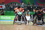 Yukinobu Ike (JPN), <br /> SEPTEMBER 18, 2016 - WheelChair Rugby : <br /> 3rd place match Japan - Canada  <br /> at Carioca Arena 1<br /> during the Rio 2016 Paralympic Games in Rio de Janeiro, Brazil.<br /> (Photo by AFLO SPORT)