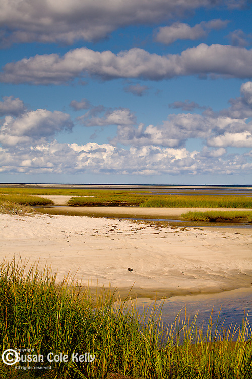 Paines Creek Beach in Brewster, Cape Cod, MA, USA