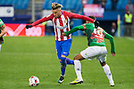"Atletico de Madrid's Jimenez  during the match of ""Copa del Rey"" between Atletico de Madrid and Gijuelo CF at Vicente Calderon Stadium in Madrid, Spain. december 20, 2016. (ALTERPHOTOS/Rodrigo Jimenez)"