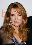 """HOLLYWOOD, CA. - September 15: Actress Lea Thompson  arrives at the world premiere of """"My Best Friend's Girl"""" at The Arclight Hollywood on September 15, 2008 in Hollywood, California."""