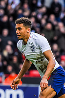 ?Everton's forward Dominic Calvert-Lewin (9) for England U21's  puts Enland 1-0 up during the International Euro U21 Qualification match between England U21 and Ukraine U21 at Bramall Lane, Sheffield, England on 27 March 2018. Photo by Stephen Buckley / PRiME Media Images.