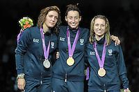 20120728 Olimpiadi Londra 2012 Tripla medaglia italiana nella Scherma