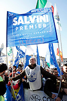 Lega Nord supporters<br /> Rome December 8th 2018. Rally of Lega Nord Party 'Italians first' in Piazza del Popolo.<br /> Foto Insidefoto