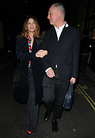 Sara MacDonald and guest at the Laura Bailey x Zanzan cocktail party, Alex Eagle, Lexington Street, London, England, UK, on Thursday 09 November 2017.<br /> CAP/CAN<br /> &copy;CAN/Capital Pictures