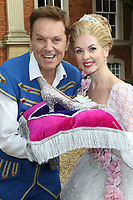 Brian Conley, Lauren Hall attend the Milton Keynes Theatre Cinderella Pantomime Press Launch at Chicheley Hall, Newport Pagnell, Bucks Brian Conley stars as 'Buttons', Gok Wan as 'The Fairy Gokmother' and Lauren Hall as 'Cinderella'. Pictured on Sunday October 8th 2017<br /> CAP/ROS<br /> &copy; Steve Ross/Capital Pictures