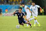 Shinji Okazaki (JPN), <br /> JUNE 19, 2014 - Football /Soccer : <br /> 2014 FIFA World Cup Brazil <br /> Group Match -Group C- <br /> between Japan 0-0 Greece <br /> at Estadio das Dunas, Natal, Brazil. <br /> (Photo by YUTAKA/AFLO SPORT)
