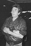 Albert Finney takes in a Broadway Show in New York City. September 30, 1981