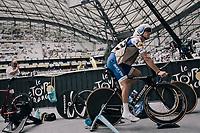Zdenek Stybar (CZE/Quick-Step Floors) warming up inside the Orange V&eacute;lodrome<br /> <br /> 104th Tour de France 2017<br /> Stage 20 (ITT) - Marseille &rsaquo; Marseille (23km)