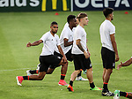 Germany's Serge Gnabry in action during training at the Stadion Cracovia in Krakow. Picture date 29th June 2017. Picture credit should read: David Klein/Sportimage